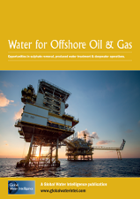 Water for Offshore Oil and Gas: Opportunities in sulphate removal, produced water treatment and deepwater operations