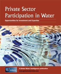 Private Sector Participation in Water: Opportunities for Investment and Expertise