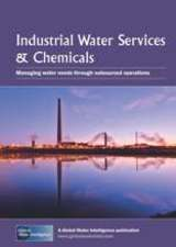 Industrial Water Services & Chemicals: Managing water needs through outsourced operations